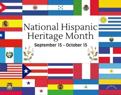 Hispanic Heritage Month Begins!
