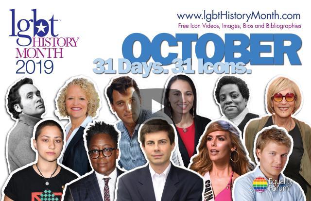 October: GLBTQ HistoryMonth